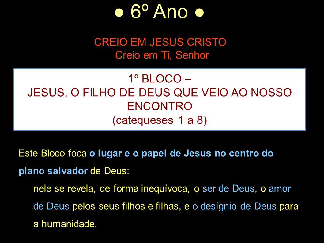 JESUS, O FILHO DE DEUS QUE VEIO AO NOSSO ENCONTRO