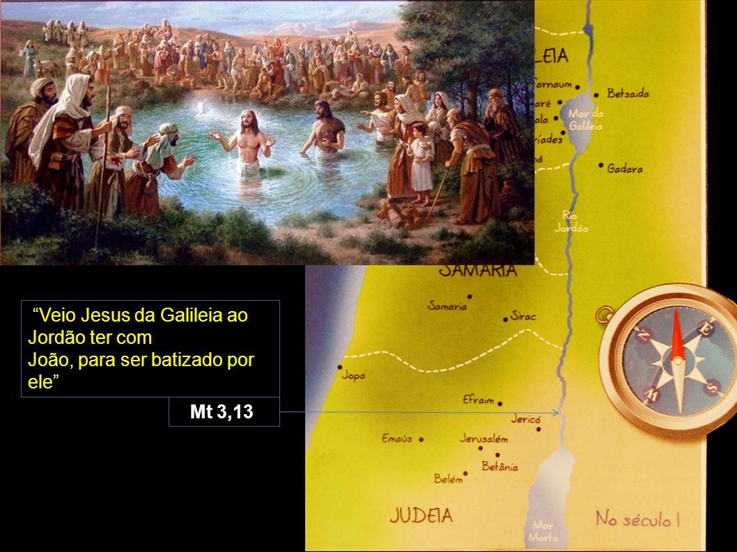 Veio Jesus da Galileia ao Jordão ter com