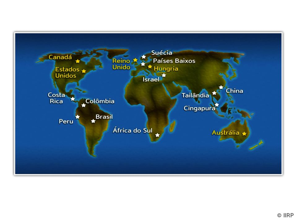 Explain that we have offices and affiliates around the world