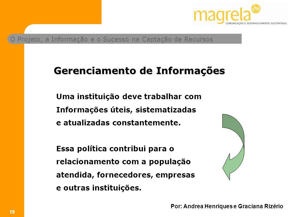 Gerenciamento de Informações