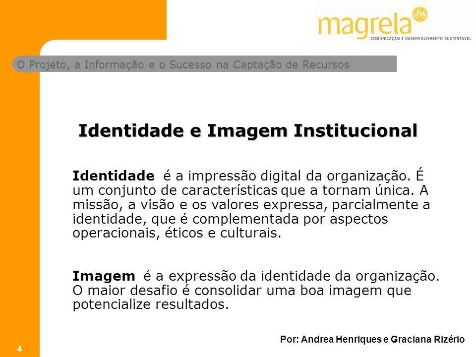 Identidade e Imagem Institucional