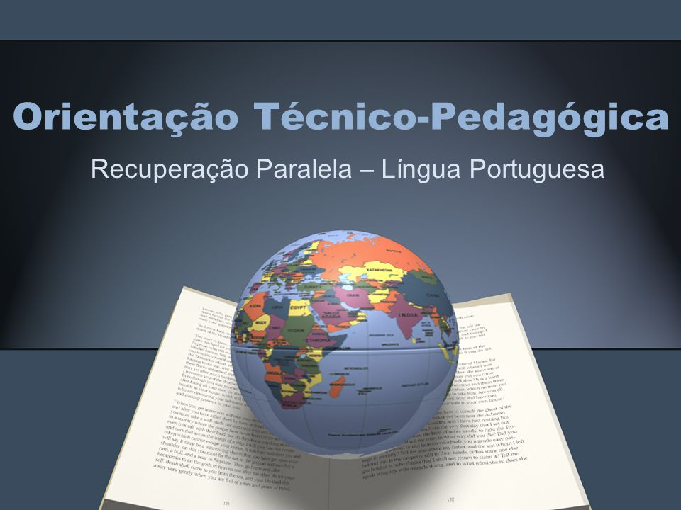 Orientação Técnico-Pedagógica