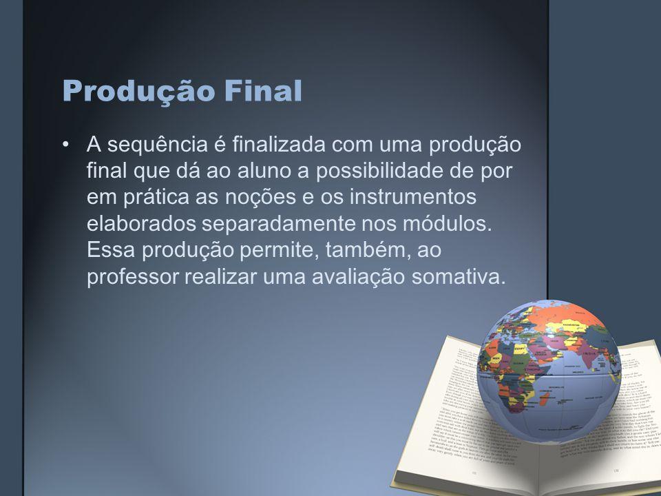 Produção Final