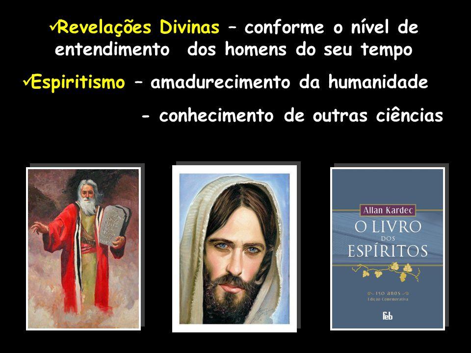 Revelações Divinas – conforme o nível de entendimento dos homens do seu tempo