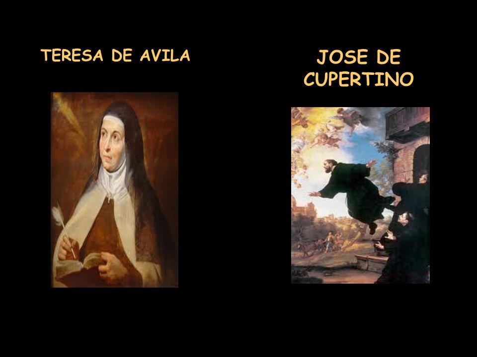 TERESA DE AVILA JOSE DE CUPERTINO