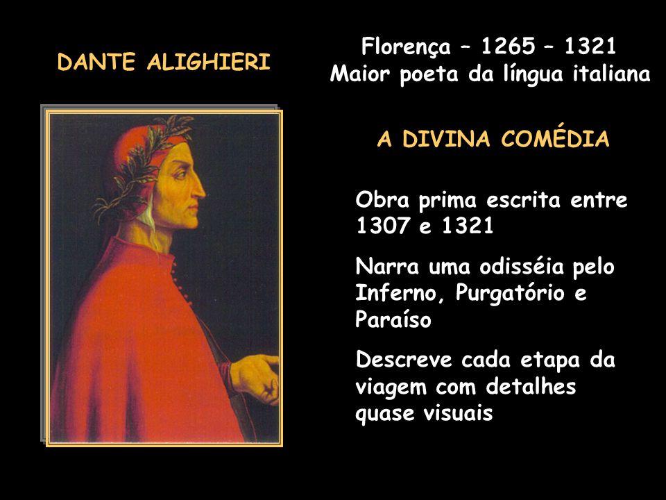 Maior poeta da língua italiana