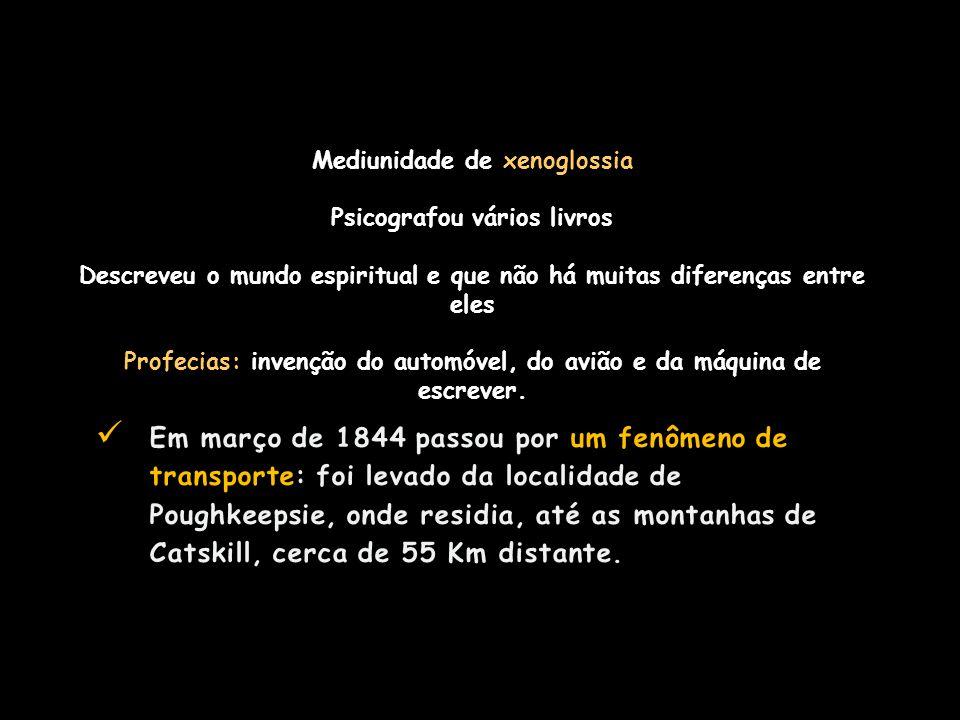 Mediunidade de xenoglossia