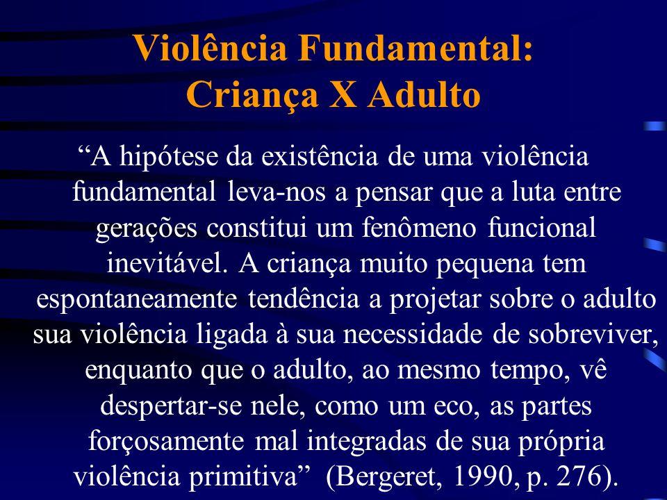 Violência Fundamental: Criança X Adulto