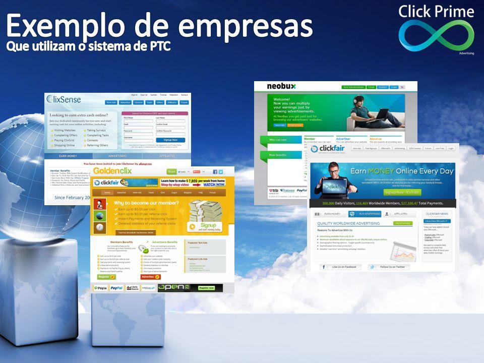 Exemplo de empresas Que utilizam o sistema de PTC
