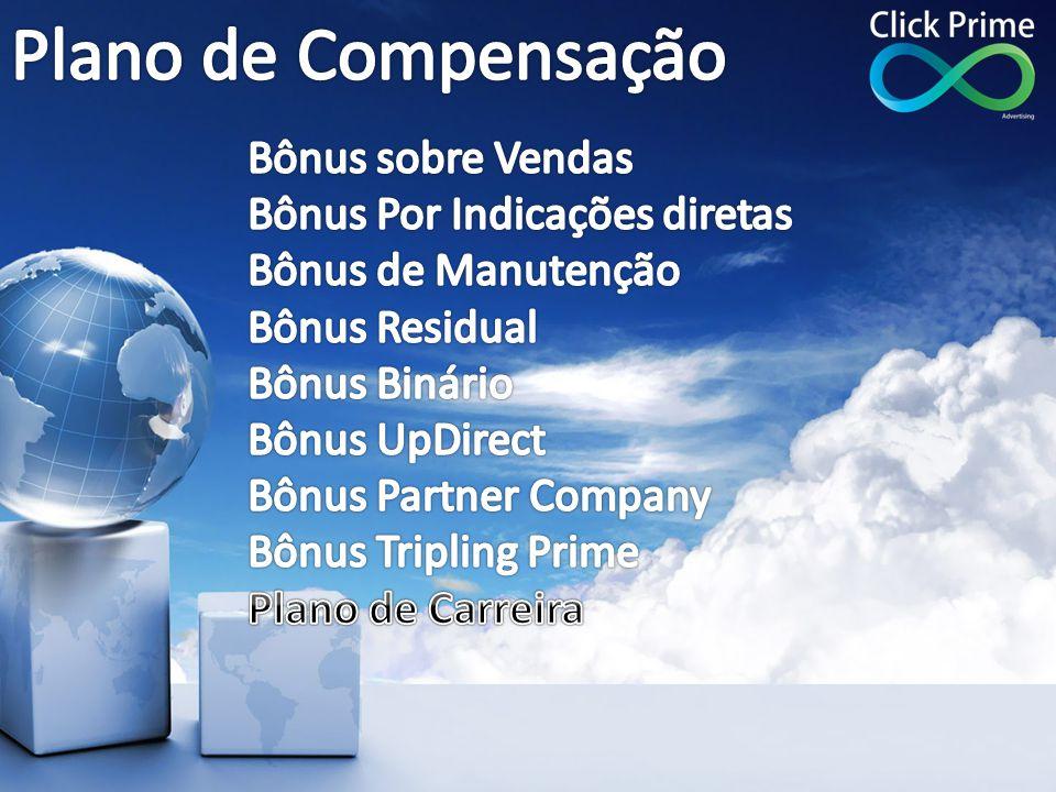 Plano de Compensação Bônus sobre Vendas Bônus Por Indicações diretas