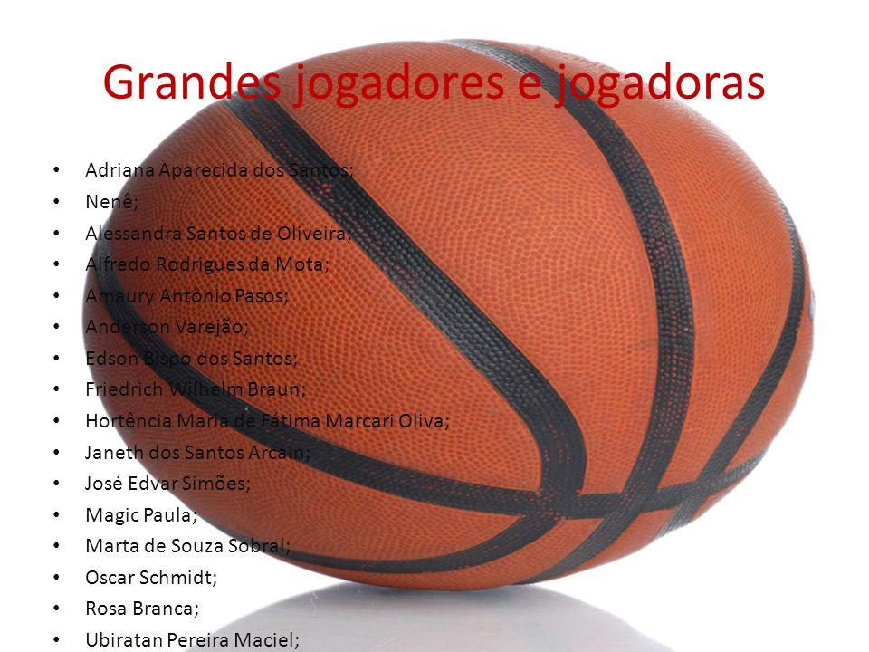 Grandes jogadores e jogadoras
