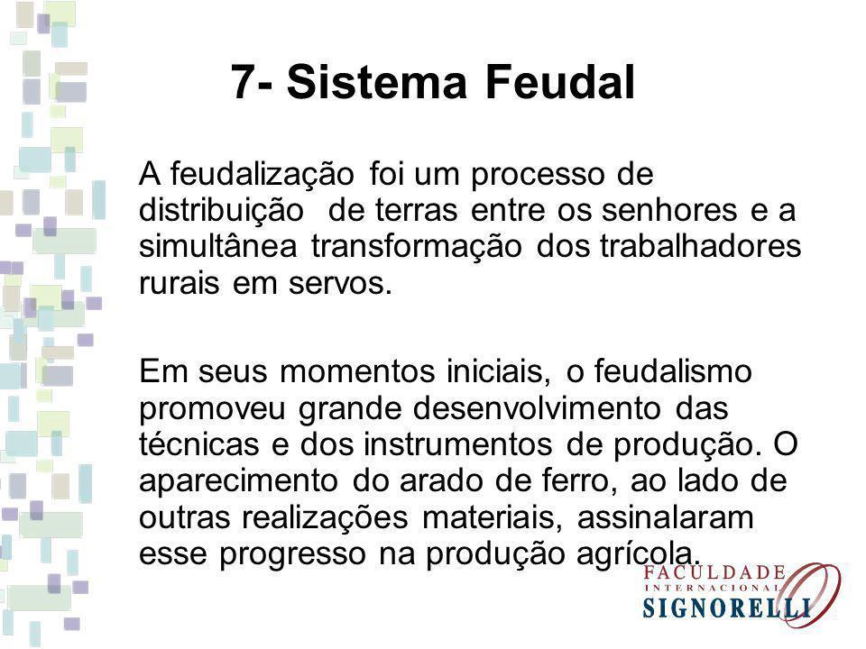 7- Sistema Feudal