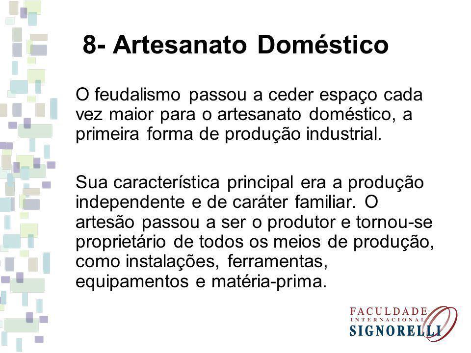 8- Artesanato Doméstico