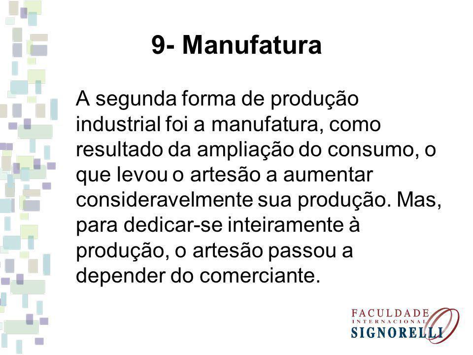9- Manufatura