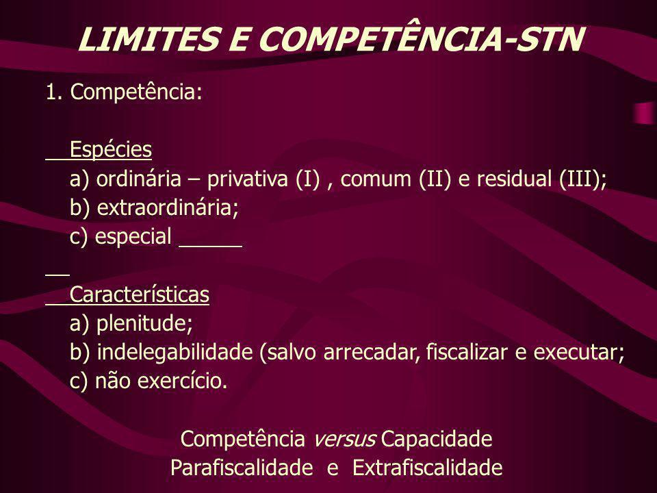 LIMITES E COMPETÊNCIA-STN