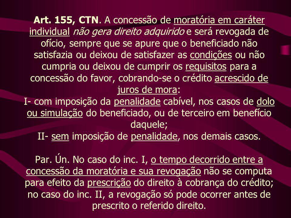 Art. 155, CTN.