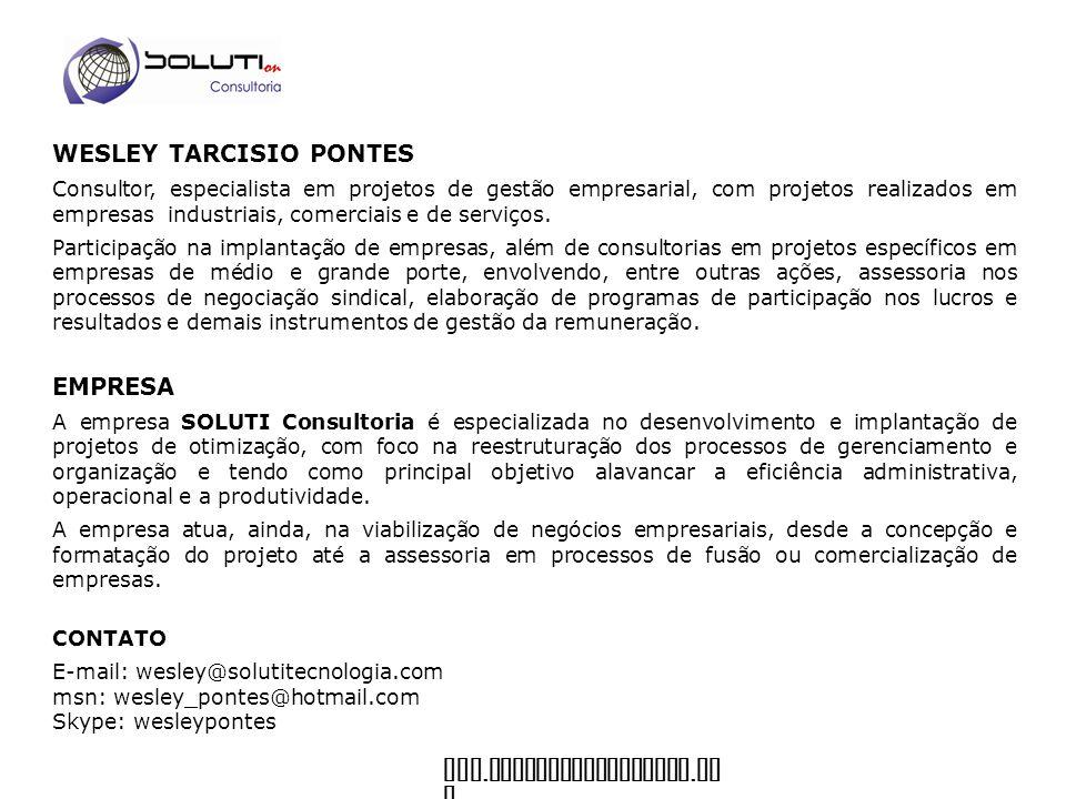 WESLEY TARCISIO PONTES