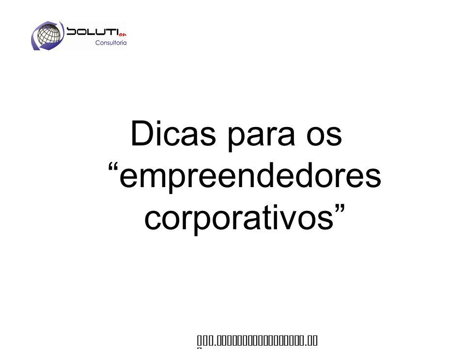 Dicas para os empreendedores corporativos