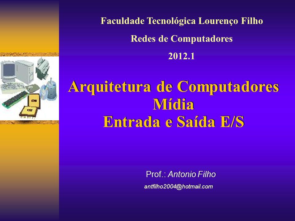 Prof.: Antonio Filho antfilho2004@hotmail.com