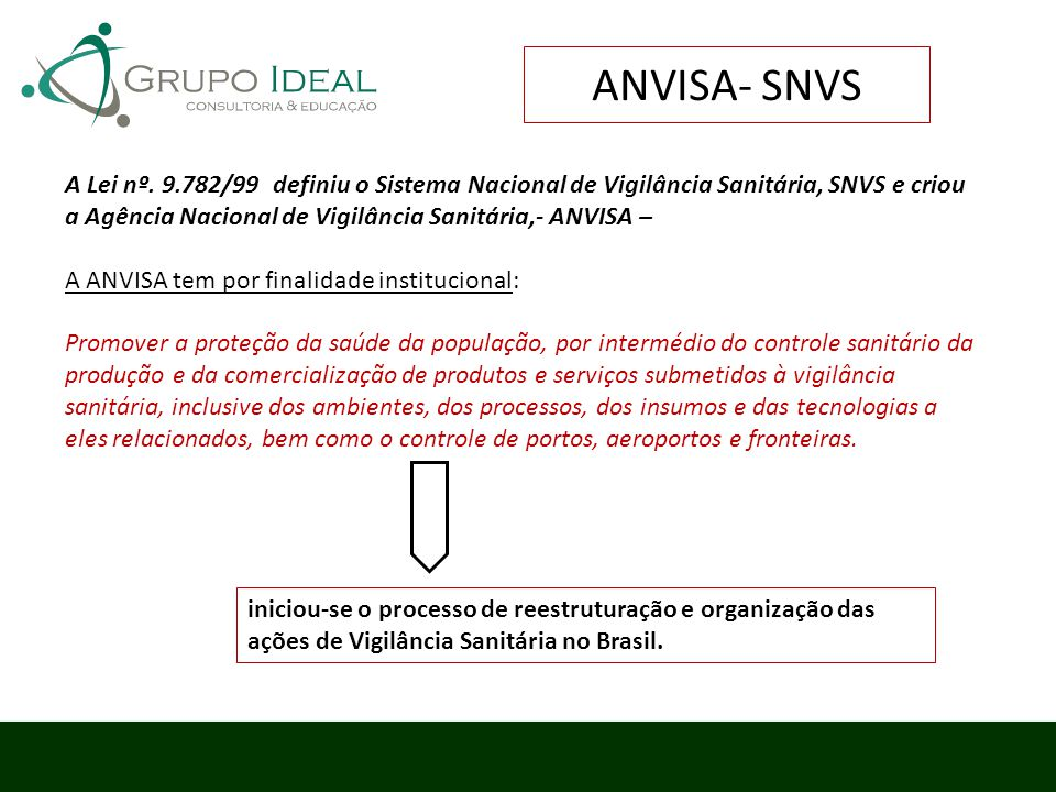 ANVISA- SNVS