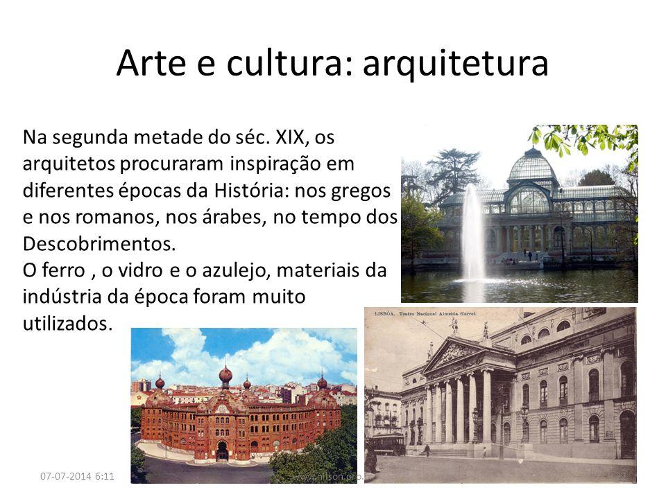 Arte e cultura: arquitetura