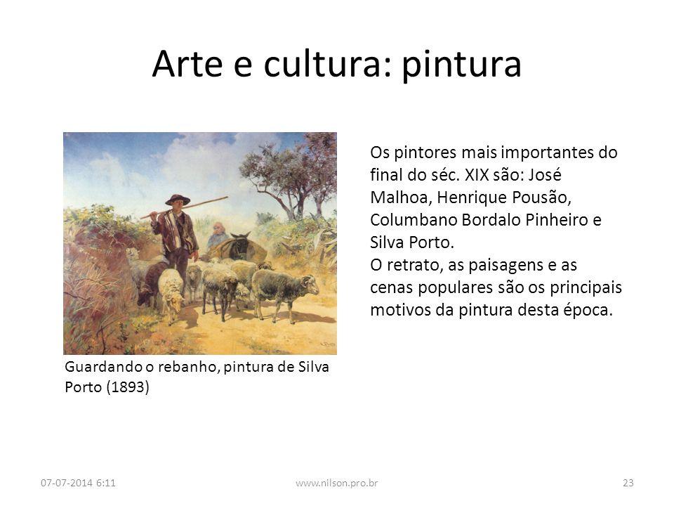 Arte e cultura: pintura