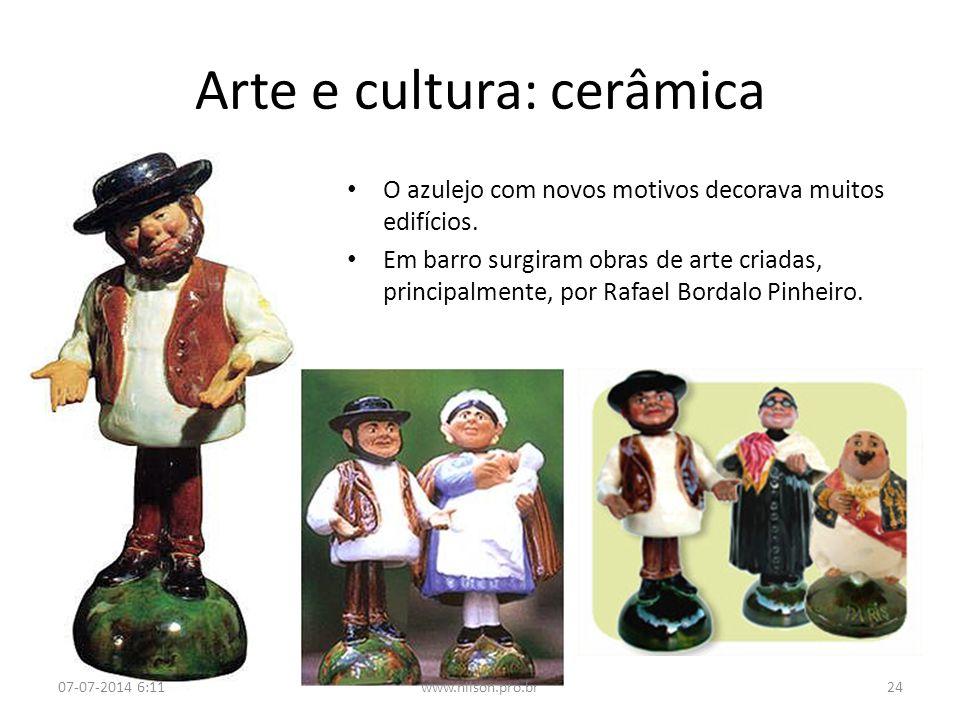 Arte e cultura: cerâmica