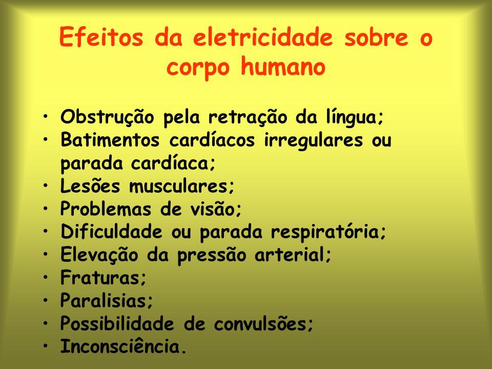 Efeitos da eletricidade sobre o corpo humano