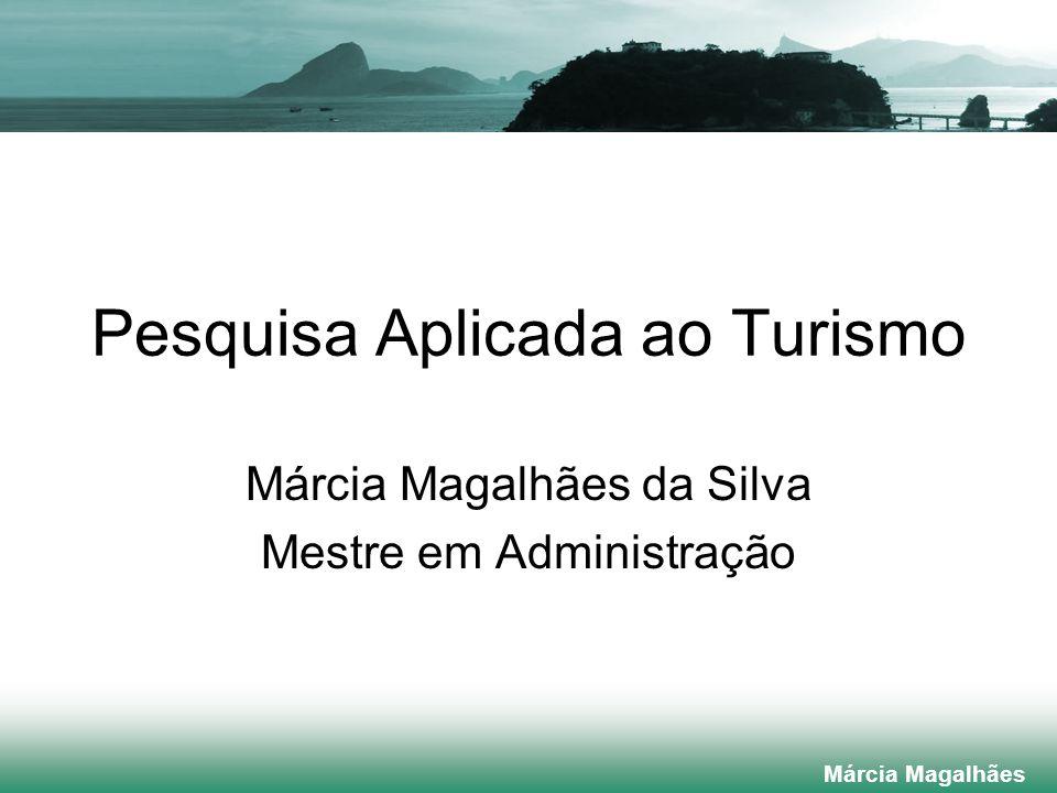 Pesquisa Aplicada ao Turismo