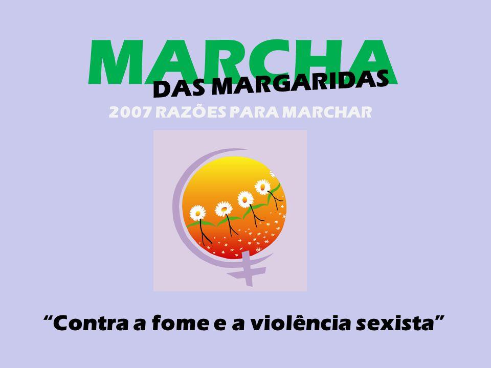 Contra a fome e a violência sexista