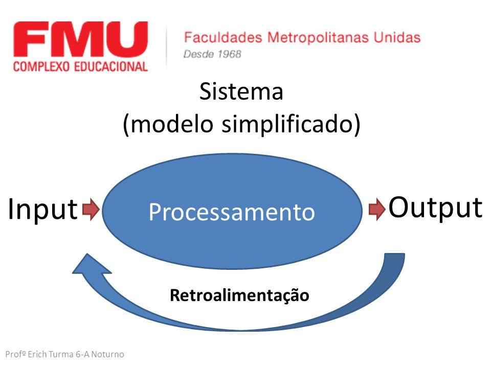 Sistema (modelo simplificado)