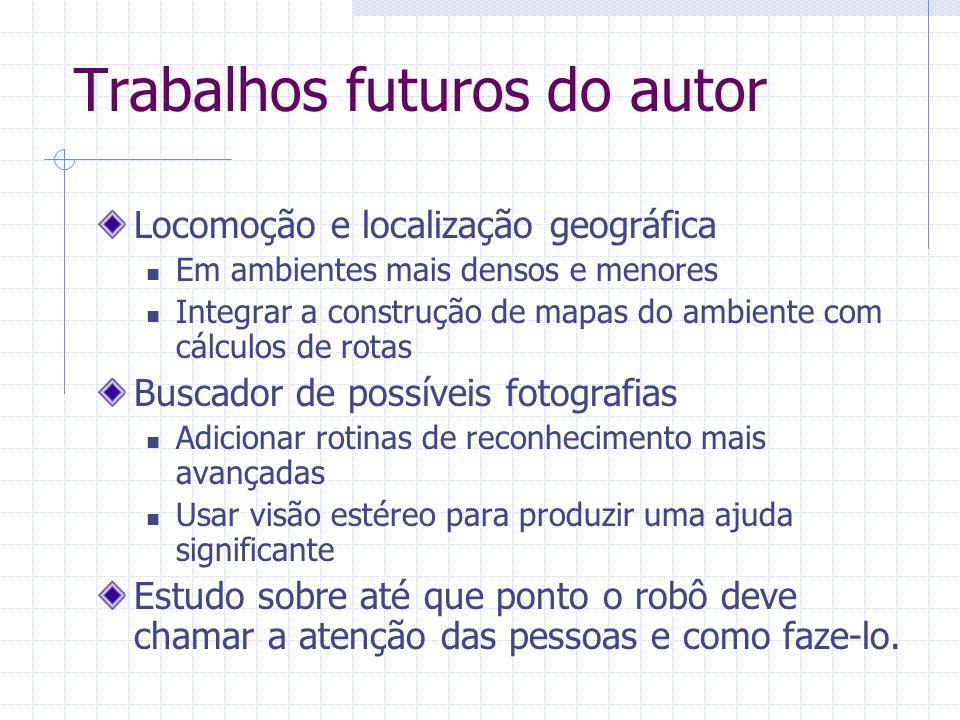 Trabalhos futuros do autor