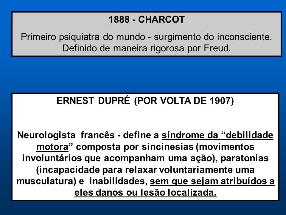 ERNEST DUPRÉ (POR VOLTA DE 1907)
