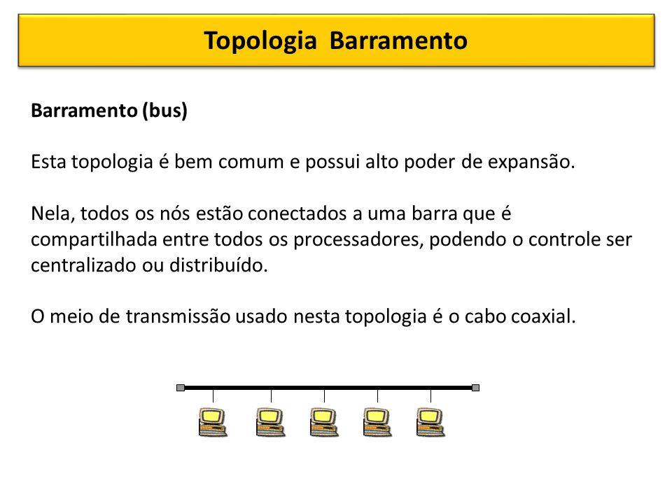 Topologia Barramento Barramento (bus)