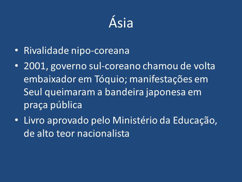 Ásia Rivalidade nipo-coreana