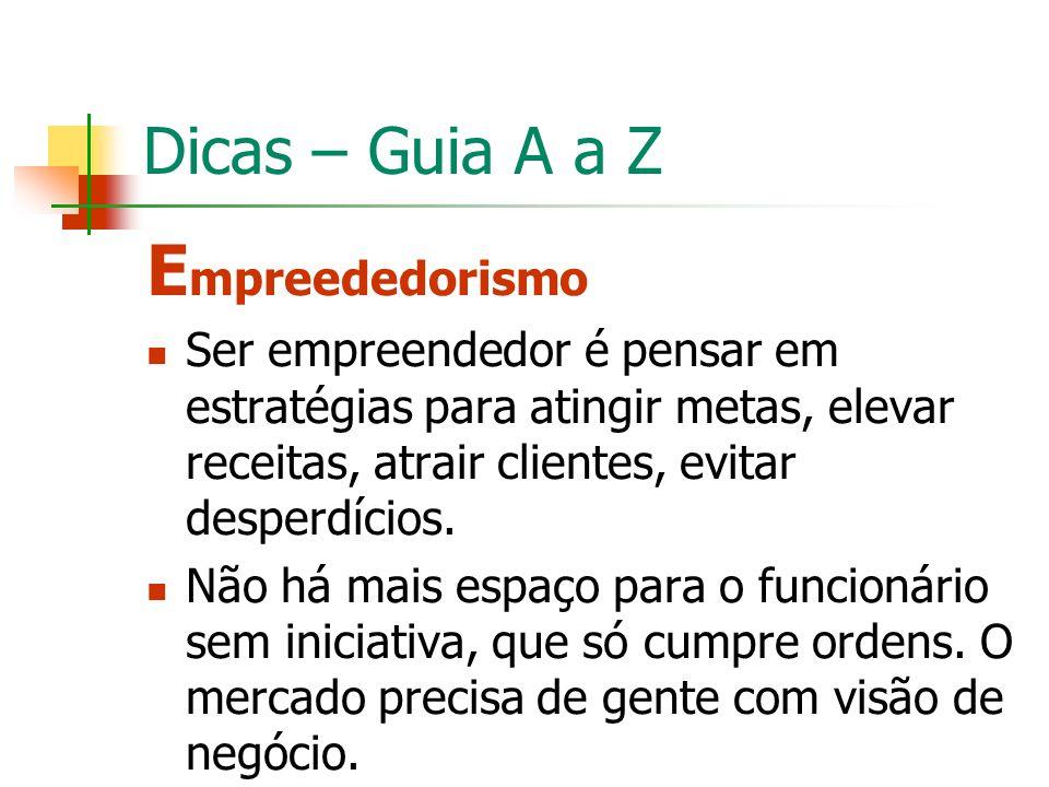 Empreededorismo Dicas – Guia A a Z