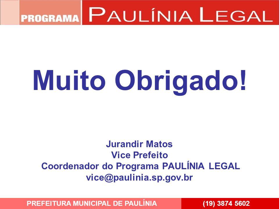 PREFEITURA MUNICIPAL DE PAULÍNIA