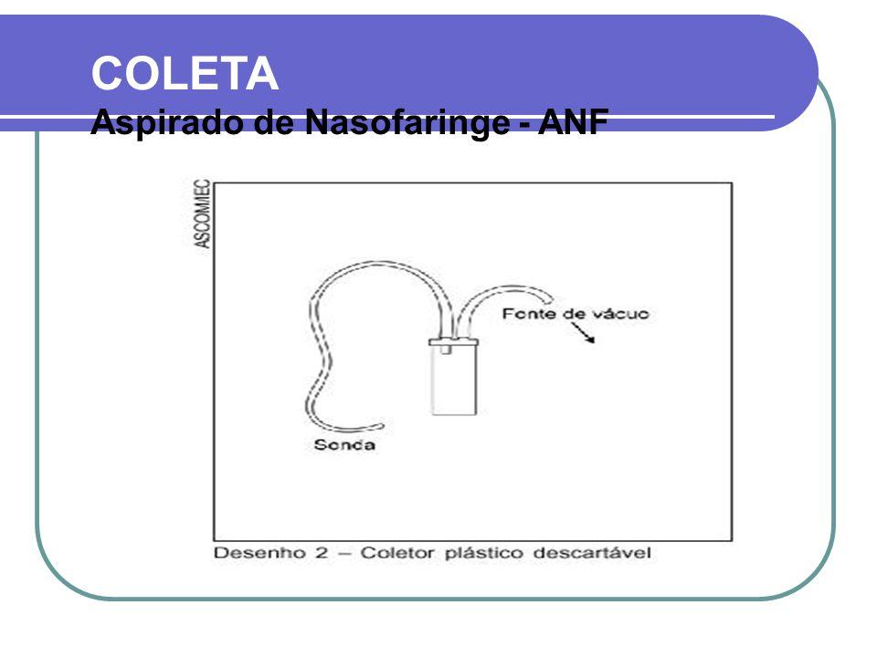 COLETA Aspirado de Nasofaringe - ANF
