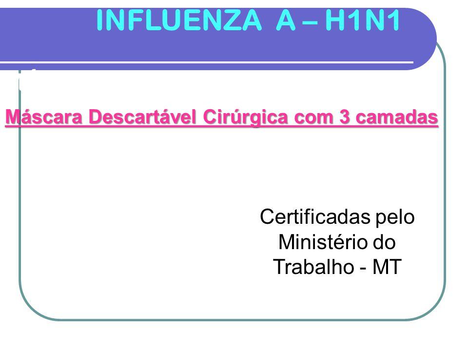 INFLUENZA A – H1N1 MÁSCARA