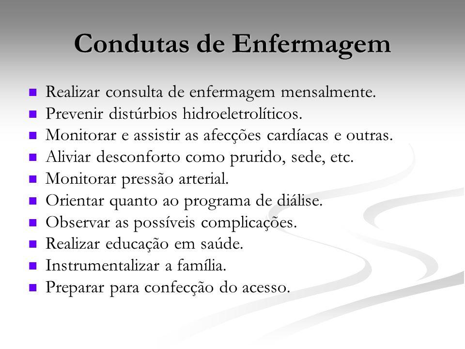 Condutas de Enfermagem