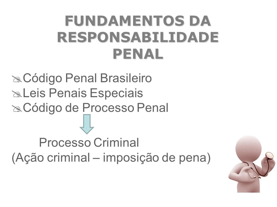 FUNDAMENTOS DA RESPONSABILIDADE PENAL
