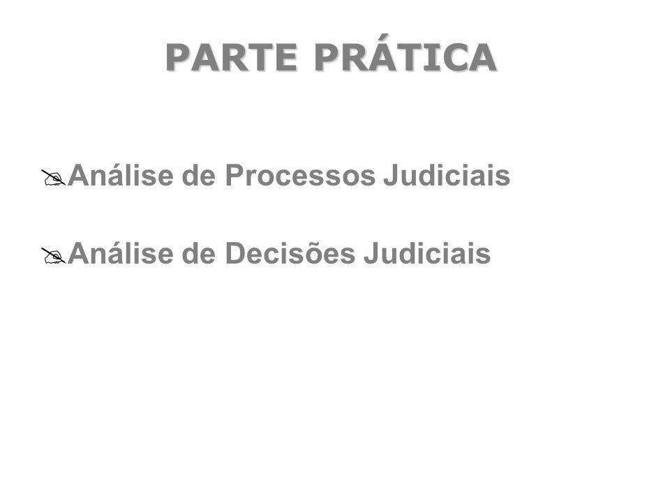 PARTE PRÁTICA Análise de Processos Judiciais