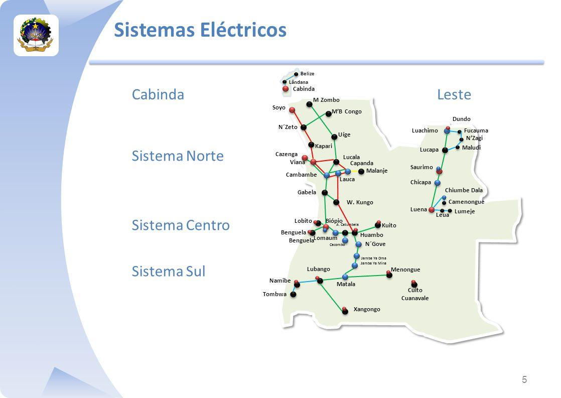 Sistemas Eléctricos Cabinda Leste