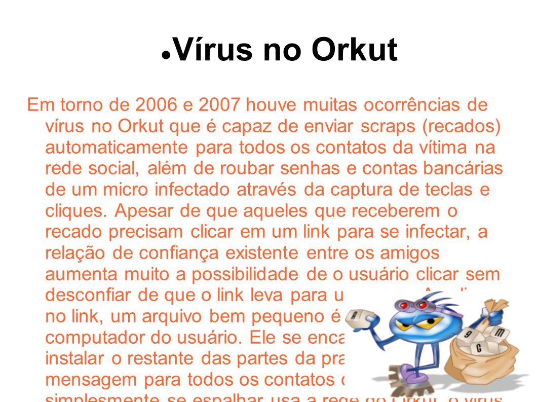 Vírus no Orkut