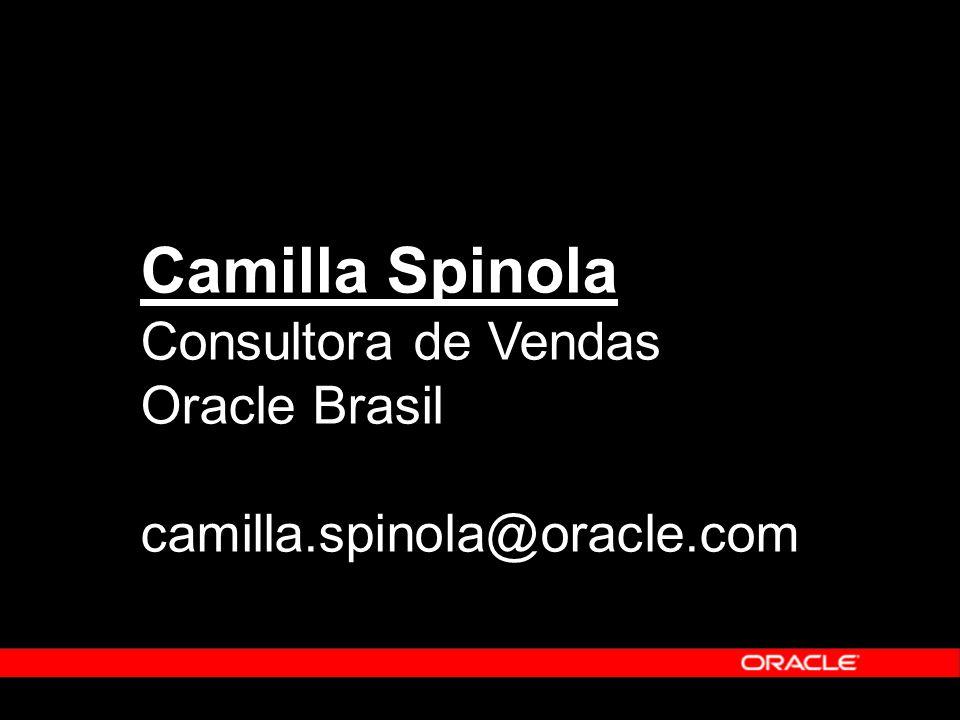 Camilla Spinola Consultora de Vendas