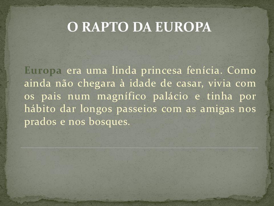 O RAPTO DA EUROPA