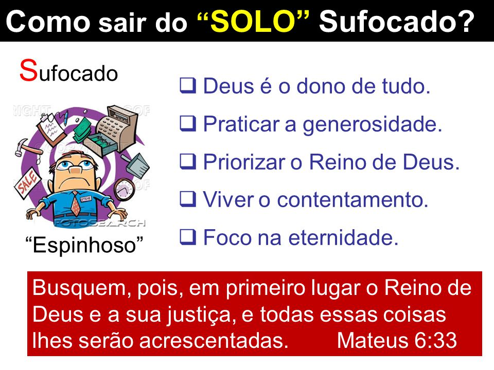 Como sair do SOLO Sufocado