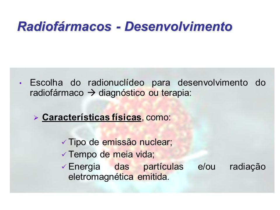 Radiofármacos - Desenvolvimento