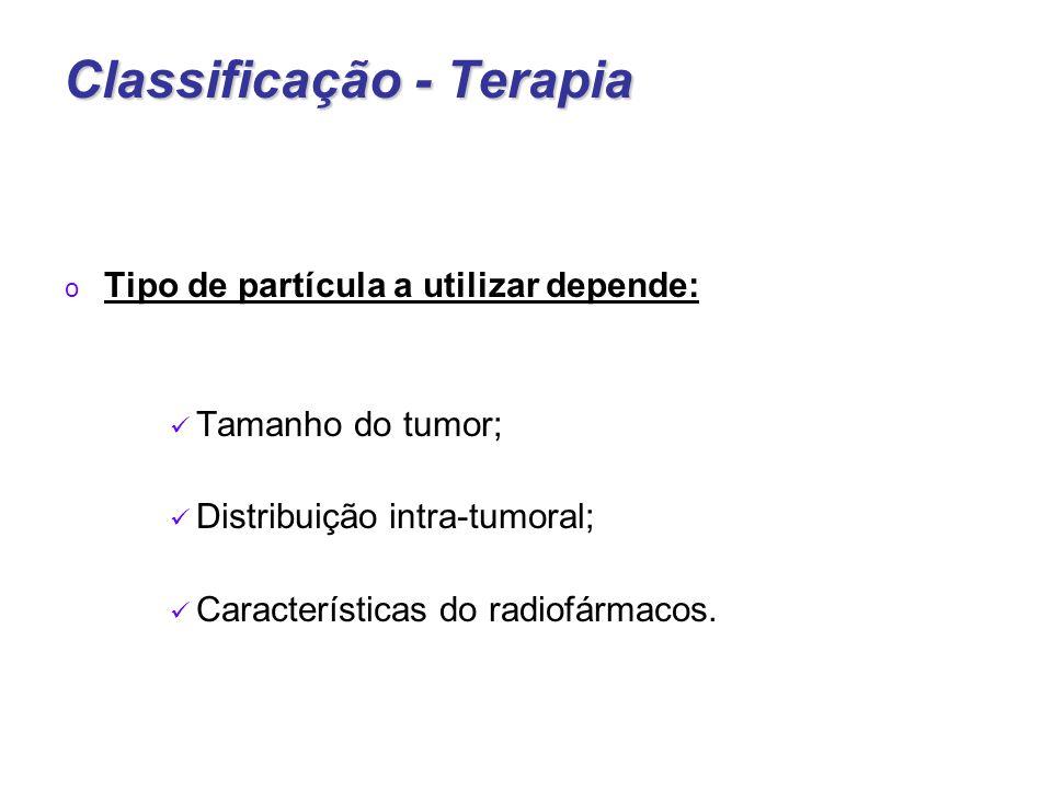 Classificação - Terapia