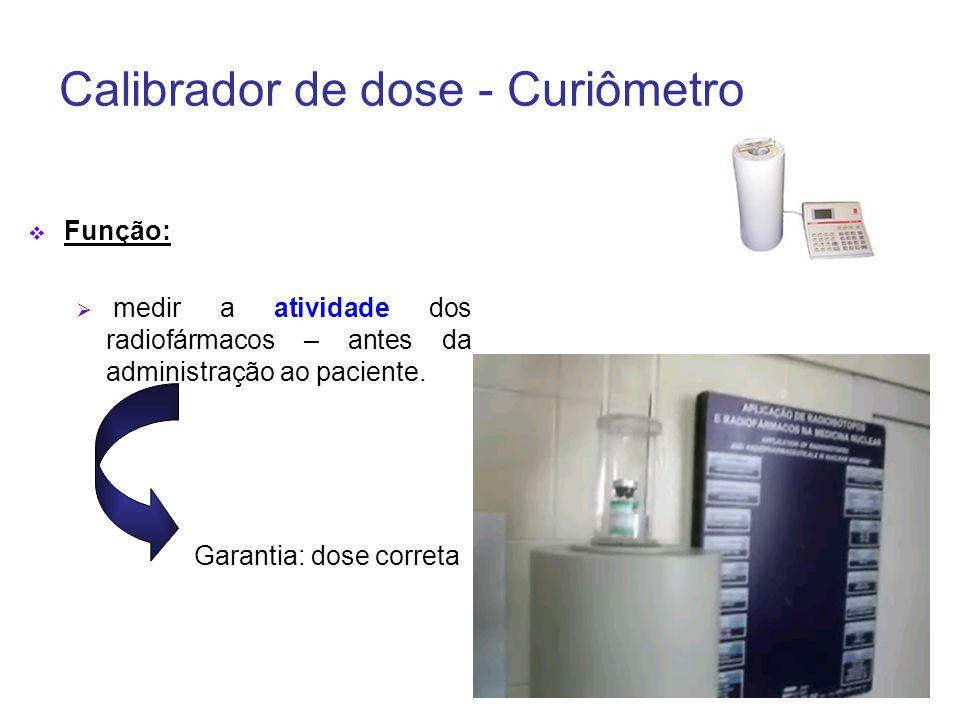 Calibrador de dose - Curiômetro